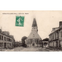 County 60120 - OISE - ANSAUVILLERS - CHURCH SQUARE