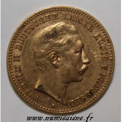 GERMAN STATES - PRUSSIA - KM 520 - 10 MARK 1907 A - GOLD