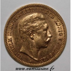GERMAN STATES - PRUSSIA - KM 520 - 10 MARK 1903 A - GOLD