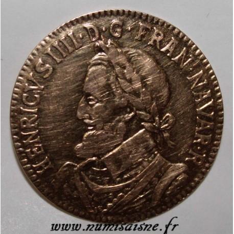 HENRI IV - GOLD TOKEN - LOUIS XVIII PERIOD - NOT ALLOCATED