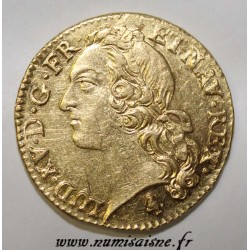 FRANCE - Gad 341 - LOUIS XV - GOLD LOUIS WITH HEADBAND - 1770 A - Paris - R3