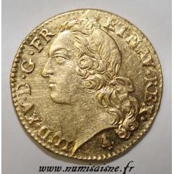 FRANKREICH - Gad 341 - LOUIS XV - GOLD LOUIS MIT STIRNBAND - 1770 A - Paris - R3