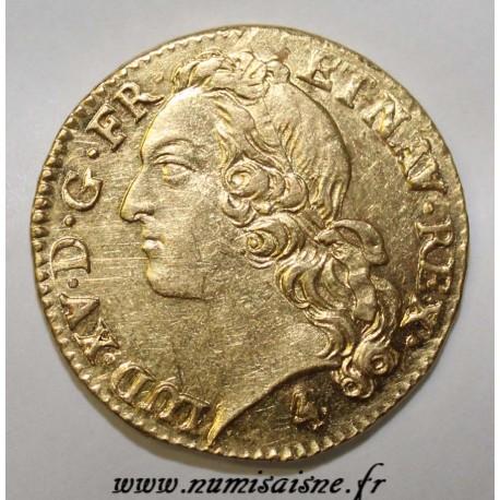 FRANCE - Gad 341 - LOUIS XV - GOLD LOUIS WITH HEADBAND - 1770 A - Paris - R3