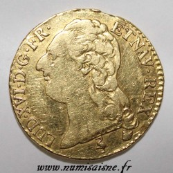 FRANCE - Gad 361 - LOUIS XVI - GOLD LOUIS WITH NAKED HEAD - 1786 A - Paris