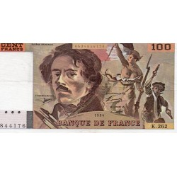 FRANCE - FAY 69TER/01 b - 100 FRANCS DELACROIX - 1994 - PICK 154