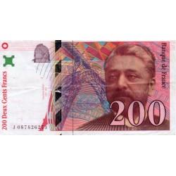 FAY 75/5 - 200 FRANCS EIFFEL - 1999 - PICK 159