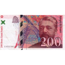 FAY 75/04 B - 200 FRANCS EIFFEL 1997 - TYPE 1995 - PICK 159