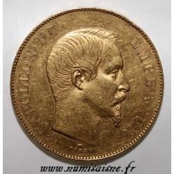 FRANKREICH - KM 785 - 50 FRANCS 1855 A - Paris - NAPOLÉON III