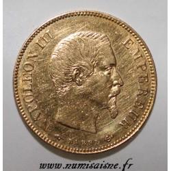 GADOURY 1014 - 10 FRANCS 1857 - A - Paris - OR - TYPE NAPOLÉON III - KM 784