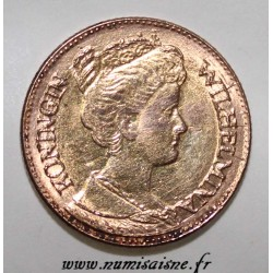 NETHERLANDS - KM 151 - 5 GULDEN 1912 - GOLD