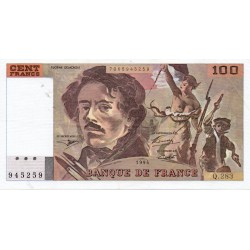FRANCE - FAY 69TER/01 c - 100 FRANCS DELACROIX - 1994 - PICK 154