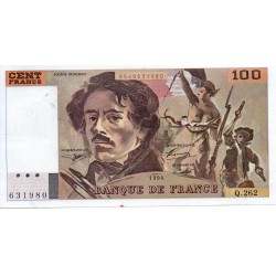 FRANCE - PICK 154 - 100 FRANCS DELACROIX 1994 - TYPE 1978