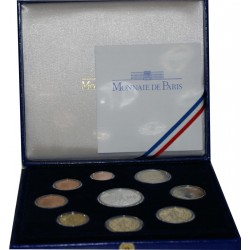 FRANCE - COIN SET PROOF EURO 2009 - MONNAIE DE PARIS