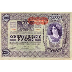 AUTRICHE - PICK 65 - 10.000 KRONEN - 02/11/1918