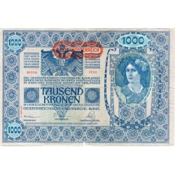 AUTRICHE - PICK 61 - 1000 KRONEN - 02/01/1902