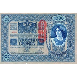 AUTRICHE - PICK 59 - 1000 KRONEN - 02/01/1902