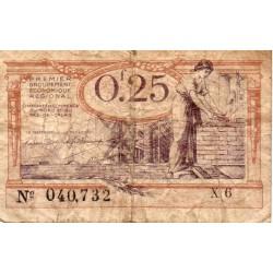 59 NORD - 62 PAS DE CALAIS - CHAMBRE DE COMMERCE - 25 CENTIMES 1918