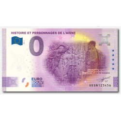 FRANCE - 02 - SOISSONS - HISTOIRE ET PERSONNAGES DE L'AISNE - CLOVIS, LA SCÈNE DU VASE - 2020