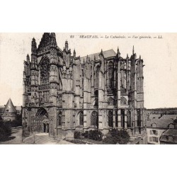 County 60000 - OISE - BEAUVAIS - THE CATHEDRALE - GENERAL VIEW