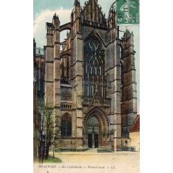 County 60000 - OISE - BEAUVAIS - THE CATHEDRALE - NORTH PORTAL