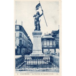 County 60000 - OISE - BEAUVAIS - THE STATUE OF JEANNE D'ARC
