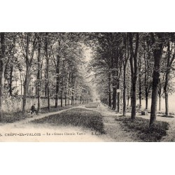 """County 60800 - OISE - CREPY-EN-VALOIS - THE """"GREAT GREEN ROAD"""""""