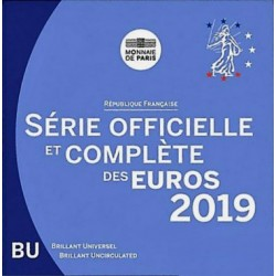 FRANCE - MINT SET BU 2019 BLISTER - 3.88 €