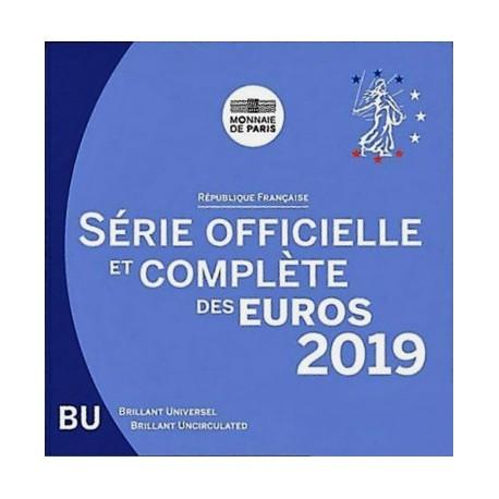 FRANCE - MINT SET BU 2019 BLISTER - 3.88 €