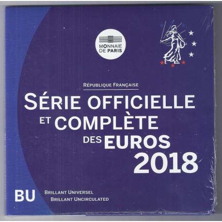 FRANCE - MINT SET BU 2018 BLISTER - 3.88 €