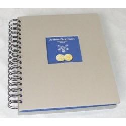 CLASSEUR A SPIRALES POUR 48 MEDAILLES ARTHUS BERTRAND - REF 7800/SAFE