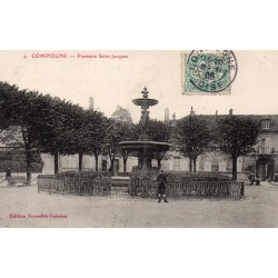 County 60200 - OISE - COMPIEGNE - ST. JACQUES FOUNTAIN