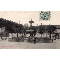 KOMITAT 60200 - OISE - COMIEGNE - ST. JACQUES FOUNTAIN