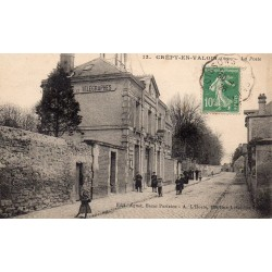 County 60800 - OISE - CREPY-EN-VALOIS - THE POST OFFICE