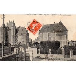 60360 - OISE - CREVECOEUR LE GRAND - LE CHATEAU LAROCHEFOUCAULD