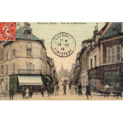 County 60600 - OISE - CLERMONT - THE STREET OF THE REPUBLIC