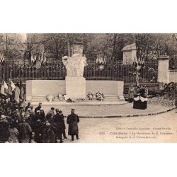 County 60200 - OISE - COMPIEGNE - THE MONUMENT OF G. GUYNEMER