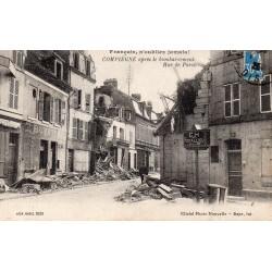 County 60200 - OISE - COMPIEGNE - RUE DE PARIS - AFTER THE BOMBING