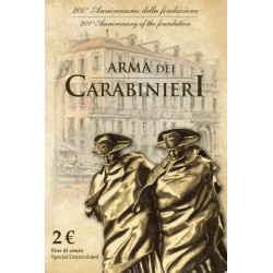 ITALY - 2 EURO 2014 - 200 YEARS OF THE CREATION OF THE CARABINIERI'S ARMY