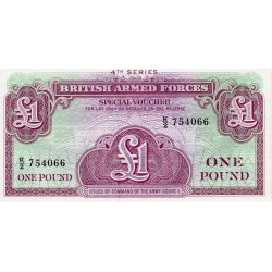 GREAT BRITAIN - PICK M36 - 1 POUND - UNDATED (1962) - 4TH SERIE