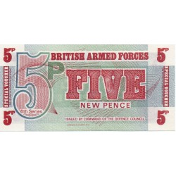 GREAT BRITAIN - PICK M47 - 5 NEW PENCE - ND (1972)