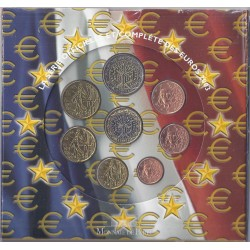 FRANCE - COFFRET EURO BRILLANT UNIVERSEL 2003 - 8 PIECES - OCCASION