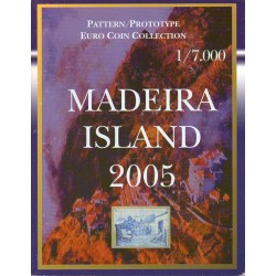 MADEIRA - EURO PROTOTYPE BOX - 8 CURRENCIES - 2005