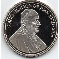 VATICAN - MEDAL - CANONIZATION OF JEAN XXIII - 2014