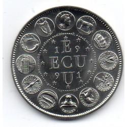 FRANCE - MEDAL - EUROPA - ECU 1991