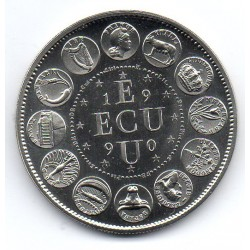 FRANCE - MEDAL - EUROPA - ECU 1990