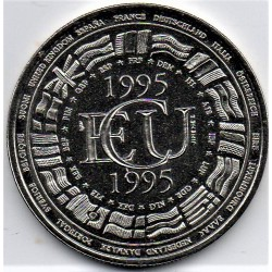 FRANCE - MEDAL - EUROPA - ECU 1995