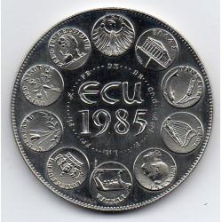 FRANCE - MEDAL - EUROPA - ECU 1985