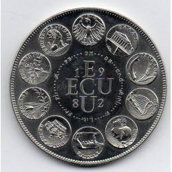 FRANCE - MEDAL - EUROPA - ECU 1982