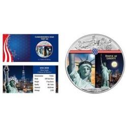 USA - 1 DOLLAR 2020 - STATUE OF LIBERTY - 1 OZ SILVER
