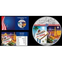 USA - 1 DOLLAR 2020 - LAS VEGAS - 1 OZ - SILVER EAGLE
